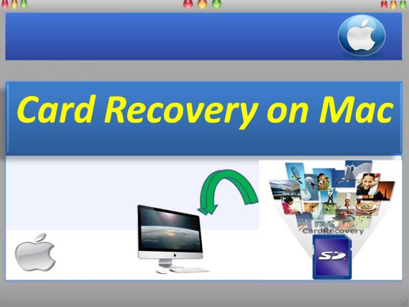 Optimum card recovery software on Mac OS
